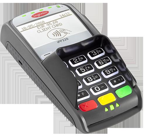 Оборудование для оплаты банковскими картами